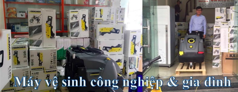 Banner Máy vệ sinh karcher - Hạnh